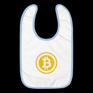 Bitcoin Baby Bibs by KRYPTO THREADZ